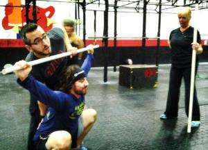Coaching the Snatch Bottom Position